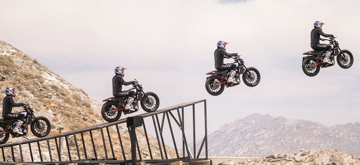 Evel Knievel 1200: This Weekend, Travis Pastrana Attempts The Jump That