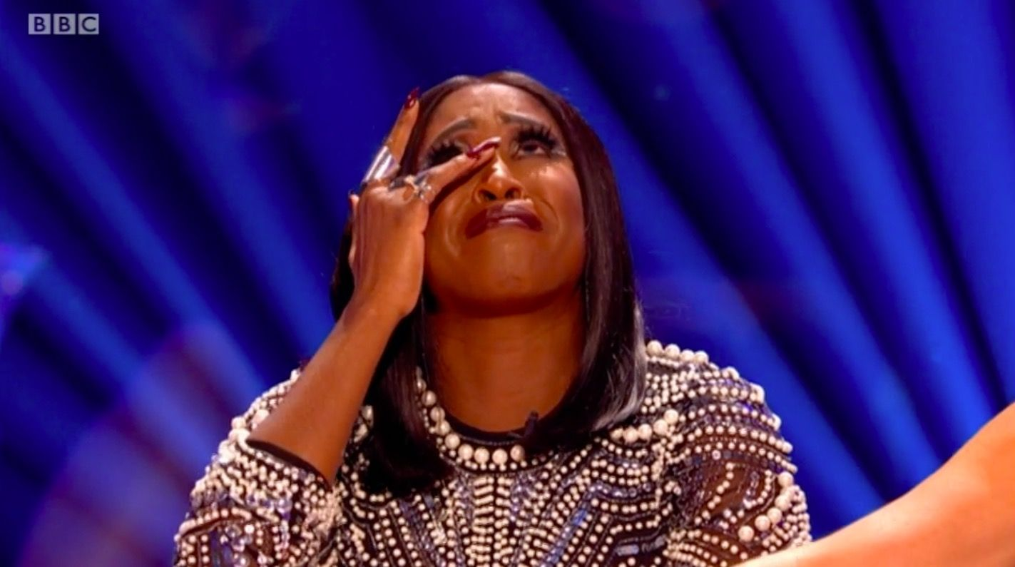 Strictly Come Dancing judge Motsi Mabuse lost for words as she breaks down in tears over Will Bayley's emotional dance