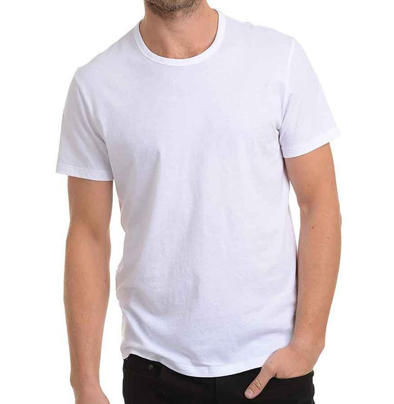 Best white t shirts for any budget best white tees for men for Who makes the best white t shirts