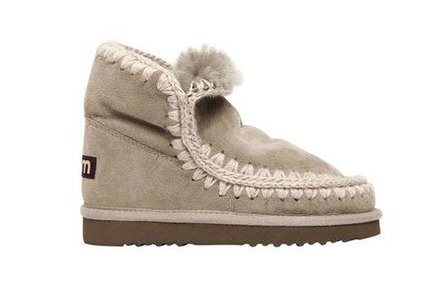 Footwear, Shoe, Product, Beige, Boot, Fur, Snow boot,