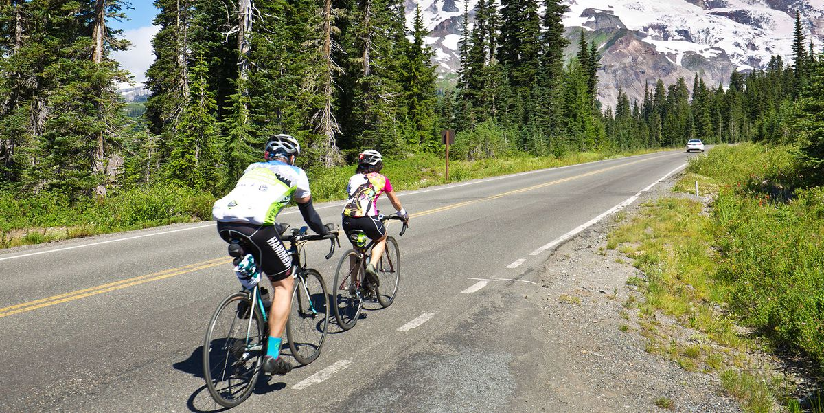 Mount Rainier National Park Road Cycling