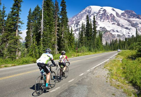 mount rainier cycling