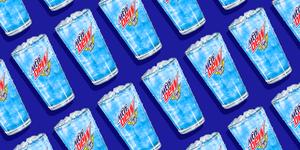 Mountain Dew atomic blue best 2020