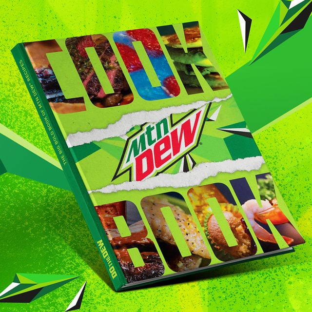 "mountain dew ""big bold book of mtn dew recipes"" cookbook"