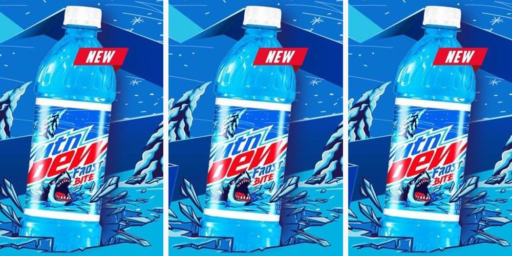 Mountain Dew Frostbite Is the Bright Blue Flavor Reportedly Headed to Shelves This Spring