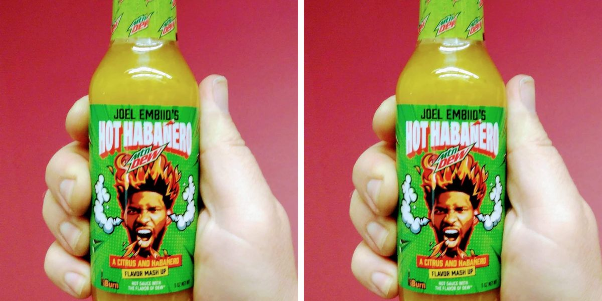 Mountain Dew Just Unveiled a Hot Sauce That Combines Citrus and Heat