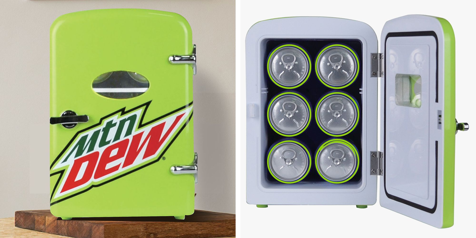 Walmart Is Selling A Mountain Dew Mini Fridge For $29