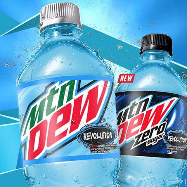 pepsico mountain dew revolution soda 2021
