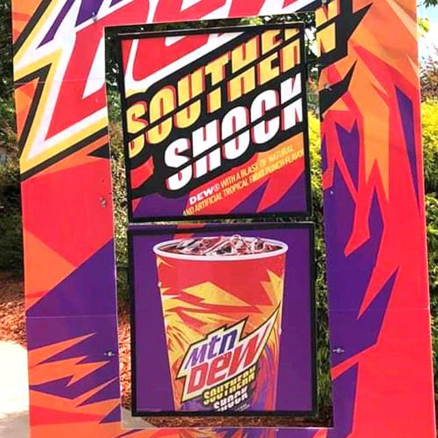 mountain dew southern shock soda