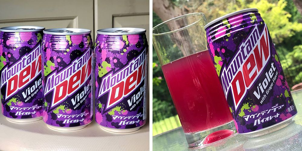 Mountain Dew's Violet Flavor From Japan Has Landed in the U.S.
