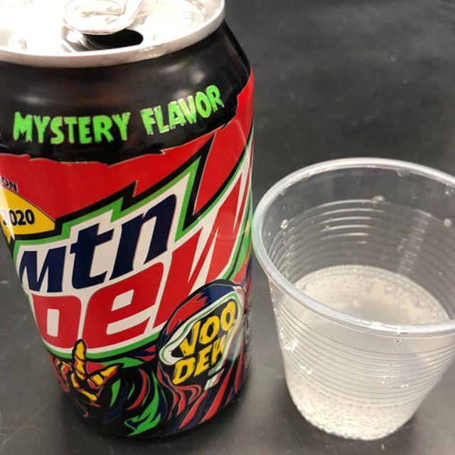 mountain dew voodew halloween flavor 2020