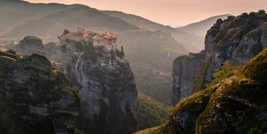 Mountain landscape, Greece