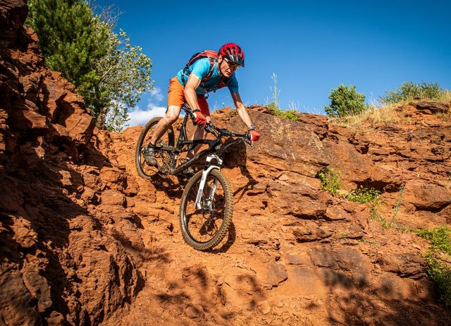 red rock mtb trails