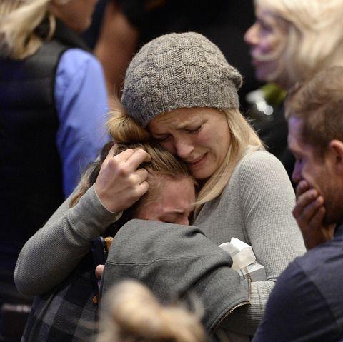 Vigil Held At Thousand Oaks City For 12 Victims Of Shooting At Borderline Bar