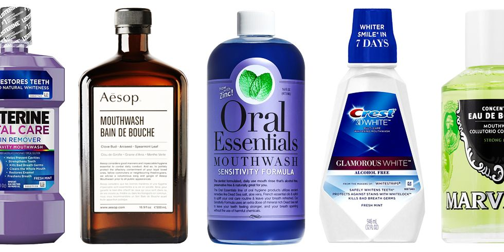 8 Great Mouthwash Options to Add to Your Morning Routine