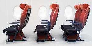 Asiento Move de Benjamin Hubert / LAYER y Airbus