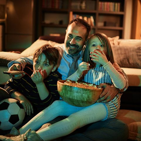 Father's Day Activities - Watch Movies