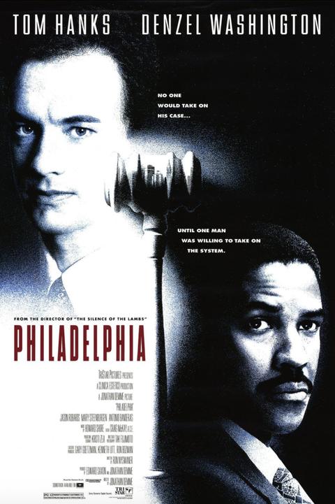 movie poster for philadelphia