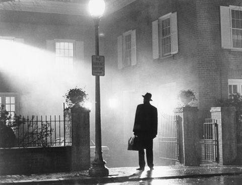 Max von Sydow as Father Merrin in The Exorcist