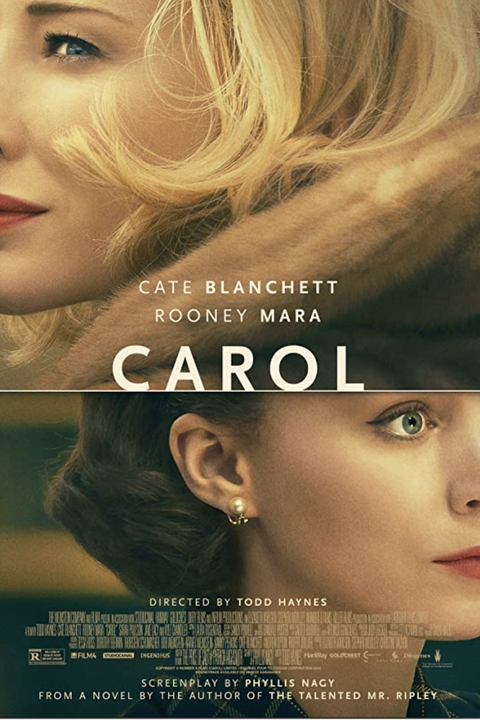 poster for the movie carol