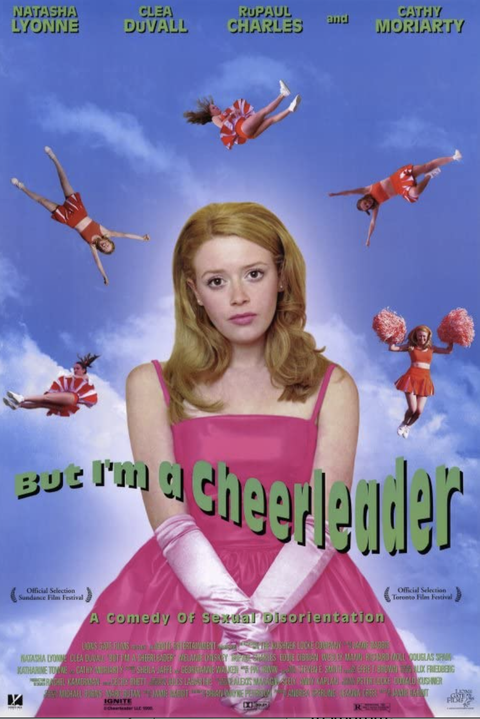 movie poster for but i'm a cheerleader