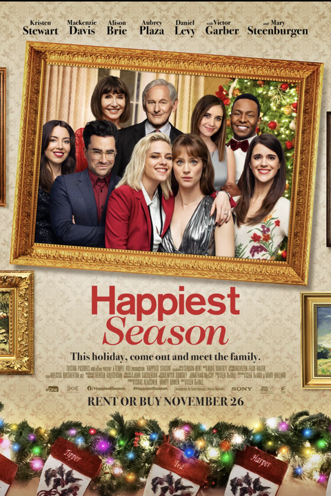 movie poster for happiest season