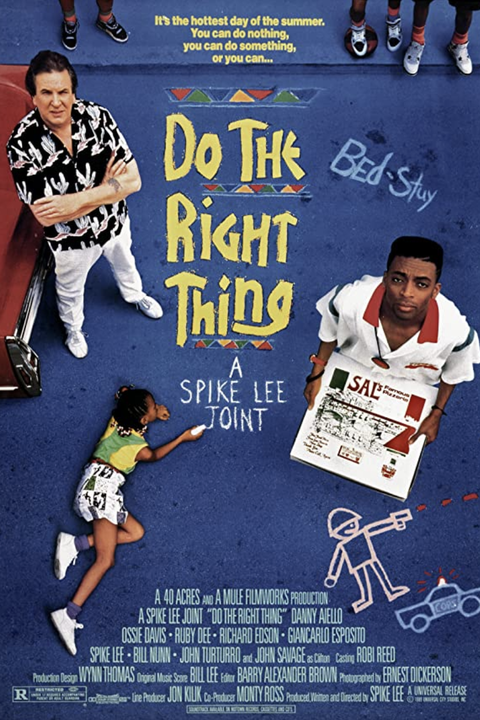 movie poster for do the right thing