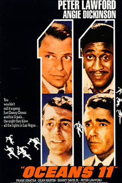 Movies to Watch on New Year's Eve - Ocean's 11