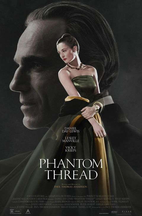 Movies to Watch on New Year's Eve - Phantom Thread