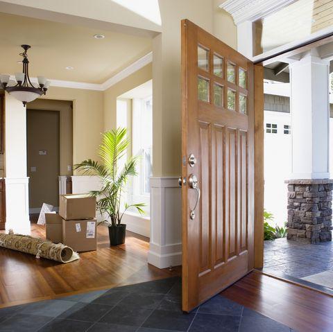 Property, Room, Building, Interior design, Door, Floor, House, Ceiling, Home, Furniture,