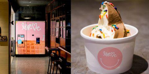 Ice cream, Frozen dessert, Soft Serve Ice Creams, Food, Gelato, Frozen yogurt, Dessert, Dairy, Sundae, Ingredient,