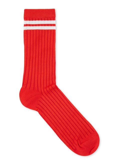 mp Denmark rode sokken met streepdetail Bijenkorf