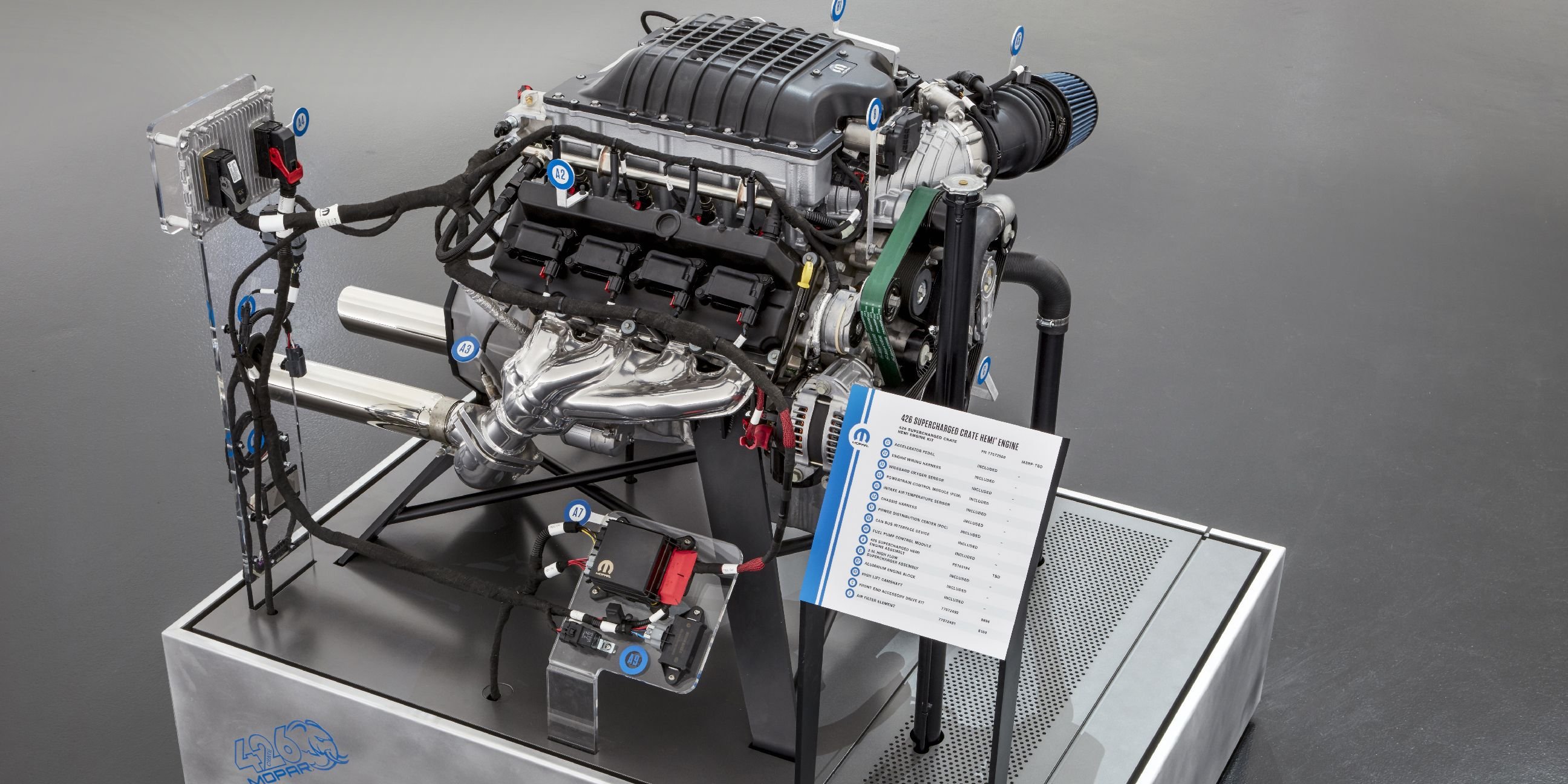 Mopar S Hellephant Is A 1000 Hp Hellcat Crate Engine Taken To The