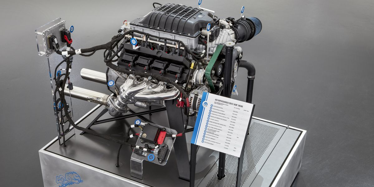 Mopar S Hellephant Is A 1000 Hp Hellcat Crate Engine Taken