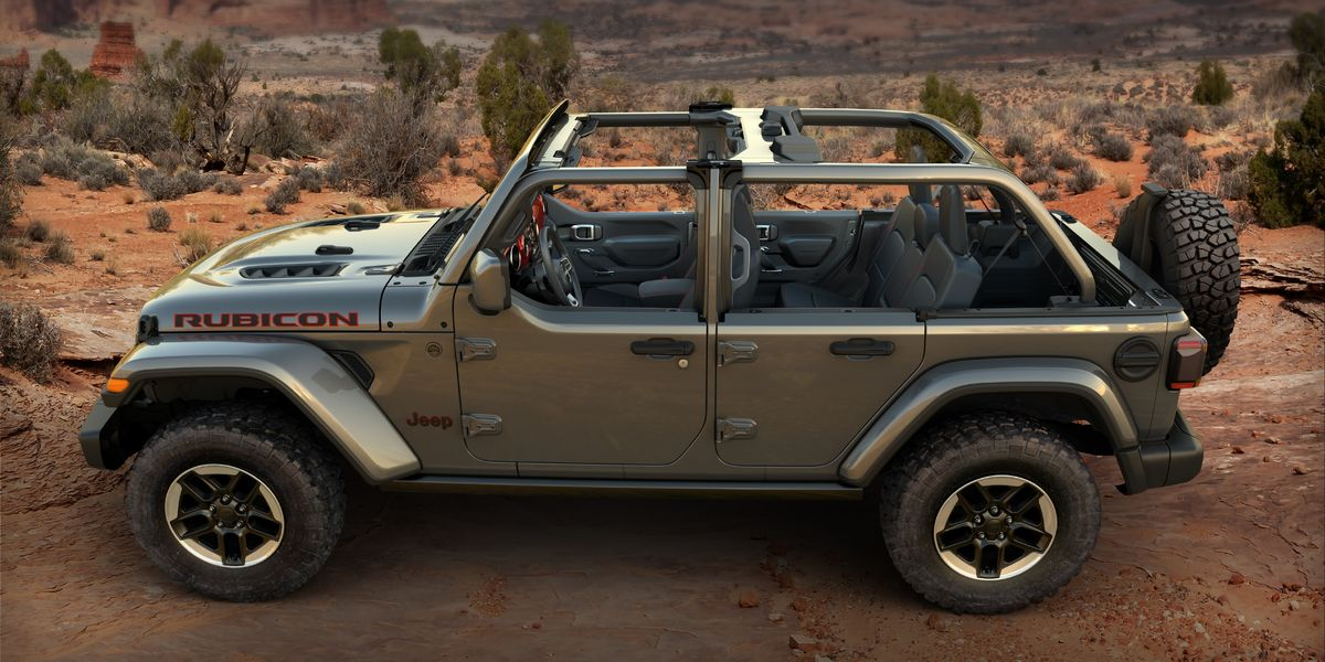 Jeep Wrangler Half-Door Option Available to Order, Starts at $2350