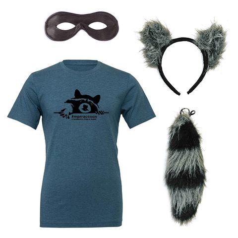 mpr raccoon costume