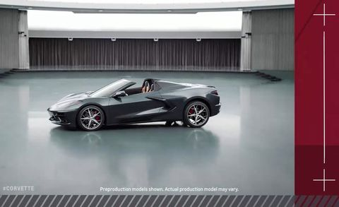 2020 Chevrolet Corvette C8 convertible