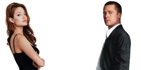 Mr and Mrs Smith, Brad Pitt, Angelina Jolie