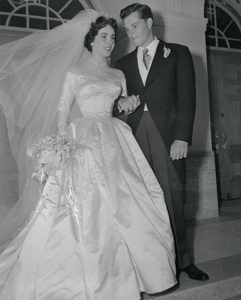 mr and mrs conrad nicholson hilton, jr
