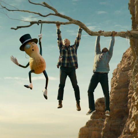 Fun, Adventure, Extreme sport, Rock, Human, Jumping, Happy, Organism, Tree, Cliff,