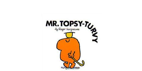 Mr. Topsy Turvy book cover