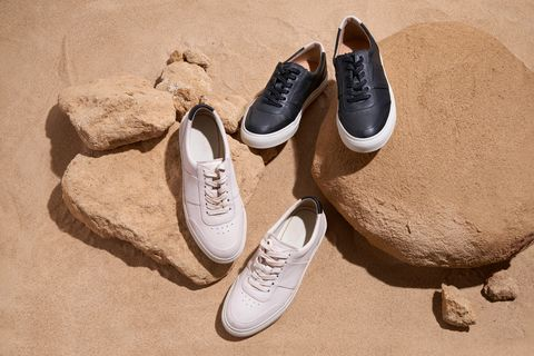 moral code white sneakers