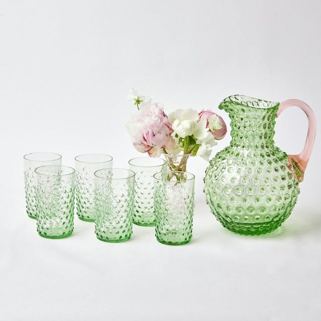 colored glassware to buy