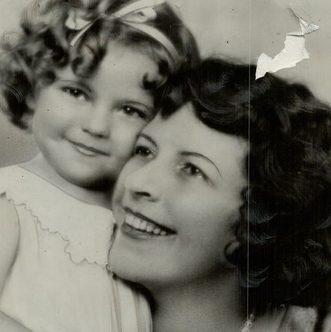 shirley temple and mother