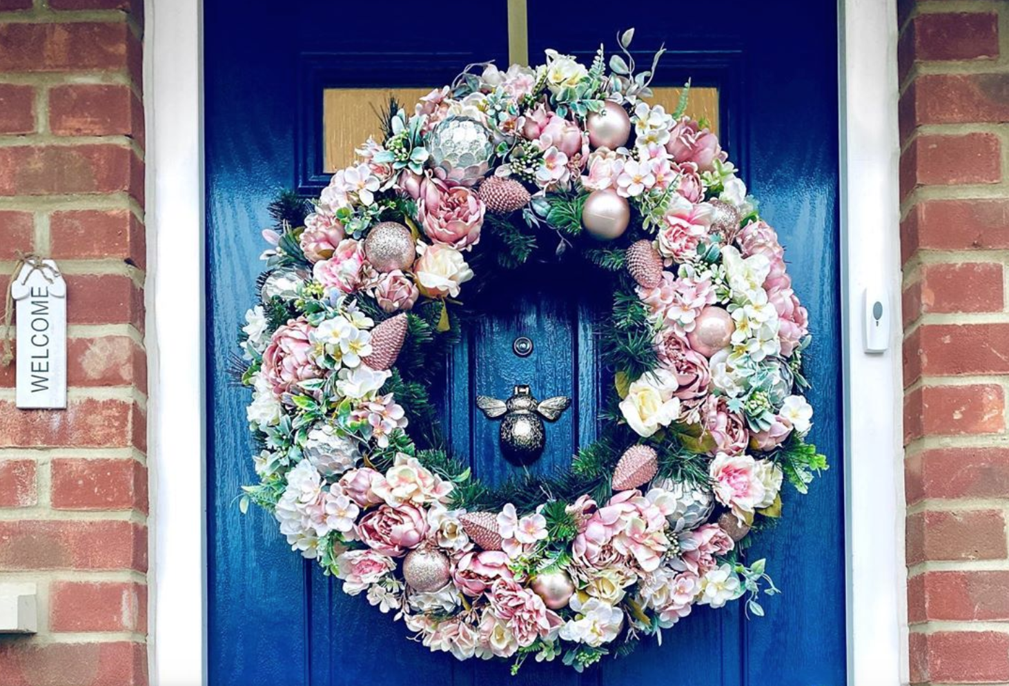 The best celebrity Christmas front doors 2019