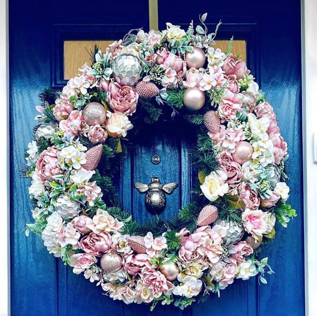 Mrs Hinch front door
