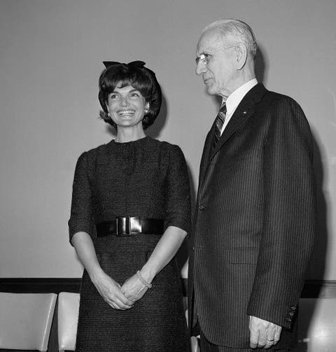 jacqueline kennedy conversing with john mccormack
