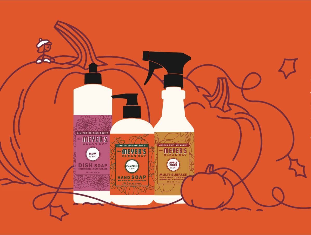 Mrs. Meyer's Just Released a New Limited-Edition Pumpkin Scent
