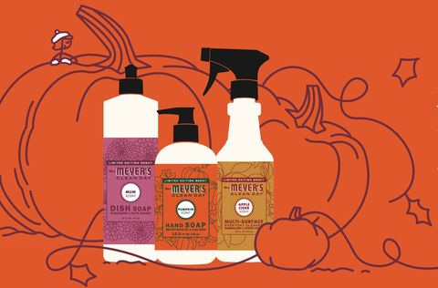 mrs meyers pumpkin scented product