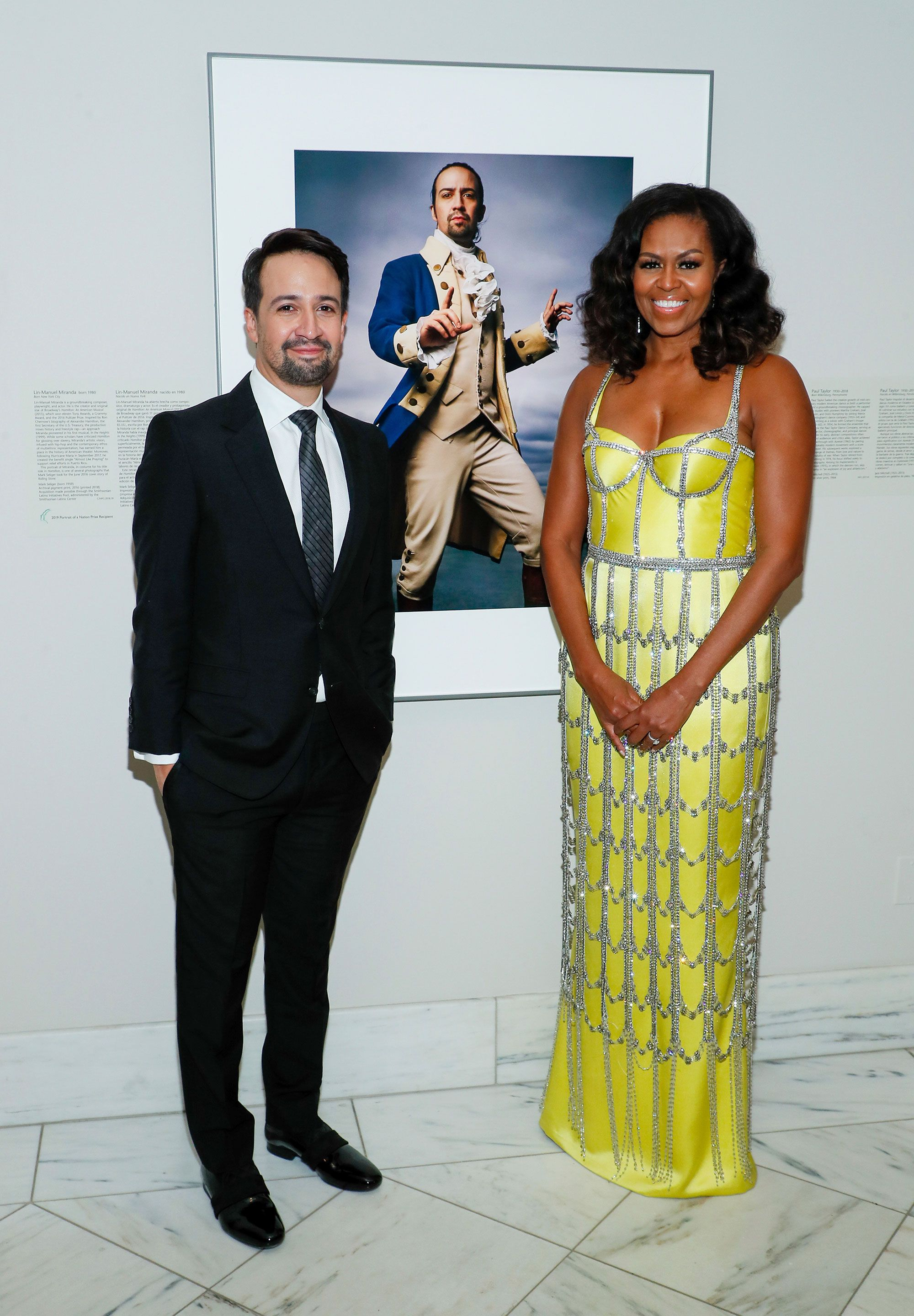 Michelle Obama Wears A Yellow Corseted Schiaparelli Gown At National Portrait Gallery Gala,Barefoot Contessa Pioneer Woman Meatloaf Recipe
